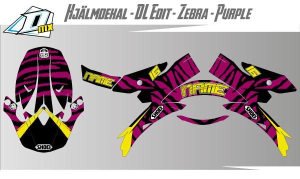 Zebra-Purple